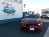 2014 Ruby Red Ford Mustang V6 Coupe #80042274