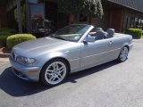 2004 Silver Grey Metallic BMW 3 Series 330i Convertible #80041846