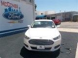 2013 White Platinum Metallic Tri-coat Ford Fusion SE 1.6 EcoBoost #80042265