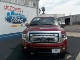2013 Ruby Red Metallic Ford F150 Platinum SuperCrew 4x4 #80042261