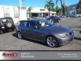 2011 Space Gray Metallic BMW 3 Series 335i Sedan #80041671
