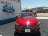 2013 Ruby Red Metallic Ford Fusion SE 1.6 EcoBoost #80042256