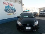 2013 Tuxedo Black Ford Focus S Sedan #80042255