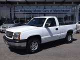 2003 Summit White Chevrolet Silverado 1500 LS Regular Cab 4x4 #80076127