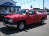 2004 Victory Red Chevrolet Silverado 1500 Regular Cab #80076410