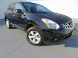 2012 Super Black Nissan Rogue S Special Edition #80076105