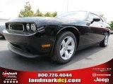 2013 Pitch Black Dodge Challenger SXT #80075988