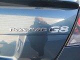 2009 Pontiac G8 GT Marks and Logos