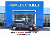 2013 Atlantis Blue Metallic Chevrolet Traverse LT #80076208