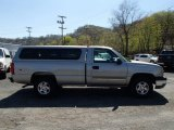 2003 Light Pewter Metallic Chevrolet Silverado 1500 LS Regular Cab 4x4 #80075968