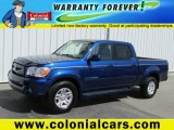 2005 Spectra Blue Mica Toyota Tundra Limited Double Cab 4x4 #80076357