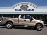2011 Pale Adobe Metallic Ford F150 XLT SuperCab 4x4 #80076073