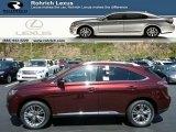 2013 Claret Red Mica Lexus RX 450h AWD #80076058