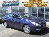 2013 Indigo Night Blue Hyundai Sonata GLS #80075844