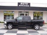 2012 Black Dodge Ram 1500 Big Horn Crew Cab #80076163