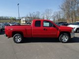 2013 Victory Red Chevrolet Silverado 1500 LT Extended Cab 4x4 #80076045