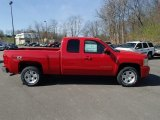 2013 Victory Red Chevrolet Silverado 1500 LT Extended Cab 4x4 #80076044