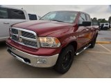 2012 Deep Cherry Red Crystal Pearl Dodge Ram 1500 Lone Star Quad Cab 4x4 #80076029