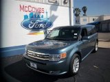 2010 Steel Blue Metallic Ford Flex SEL #80117248