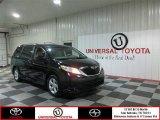 2012 Black Toyota Sienna LE #80117242
