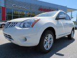 2013 Pearl White Nissan Rogue SV #80117510