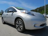 Brilliant Silver Nissan LEAF in 2013
