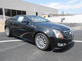 Black Diamond Tricoat Cadillac CTS in 2013
