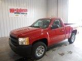 2013 Victory Red Chevrolet Silverado 1500 Work Truck Regular Cab #80117902