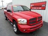 2006 Flame Red Dodge Ram 1500 Sport Quad Cab 4x4 #80117899