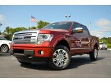 2013 Ruby Red Metallic Ford F150 Platinum SuperCrew 4x4 #80117640