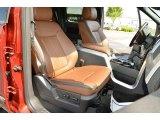 2013 Ford F150 Platinum SuperCrew 4x4 Front Seat