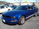 2005 Sonic Blue Metallic Ford Mustang V6 Premium Coupe #80117495