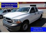2010 Stone White Dodge Ram 1500 ST Quad Cab 4x4 #80117064