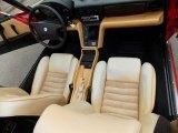 1991 Alfa Romeo Spider Interiors