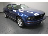 2006 Vista Blue Metallic Ford Mustang V6 Deluxe Coupe #80117621