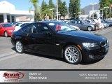 2009 Jet Black BMW 3 Series 328i Coupe #80117446