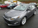 2012 Ford Focus Titanium 5-Door Front 3/4 View