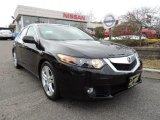 2010 Crystal Black Pearl Acura TSX V6 Sedan #80117302