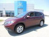2013 Basque Red Pearl II Honda CR-V EX AWD #80117710
