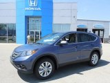 2013 Twilight Blue Metallic Honda CR-V EX AWD #80117708