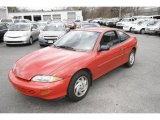 1999 Bright Red Chevrolet Cavalier Coupe #7981725