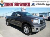 2011 Magnetic Gray Metallic Toyota Tundra Double Cab 4x4 #80117700