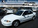 2002 Bright White Chevrolet Cavalier Sedan #80117289