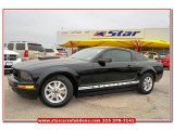 2007 Black Ford Mustang V6 Deluxe Coupe #80117588