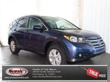 2013 Twilight Blue Metallic Honda CR-V EX-L #80117170