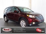 2013 Basque Red Pearl II Honda CR-V EX-L #80117168