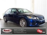 2013 Obsidian Blue Pearl Honda Accord LX Sedan #80117157