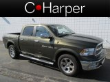 2012 Sagebrush Pearl Dodge Ram 1500 Laramie Crew Cab 4x4 #80117796