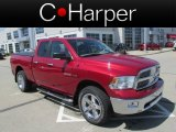 2010 Inferno Red Crystal Pearl Dodge Ram 1500 Big Horn Quad Cab 4x4 #80117136