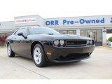 2013 Pitch Black Dodge Challenger SXT Plus #80117555